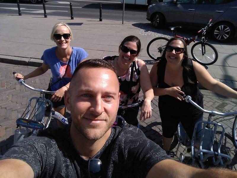 Wycieczka po Warszawie na Rowerze