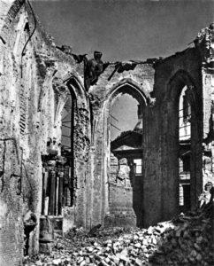 Katedra św. Jana w 1945