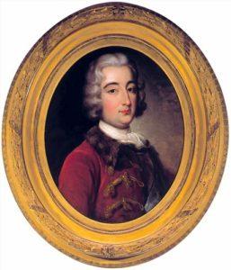 Portret Augusta Czartoryskiego, XVIII w.