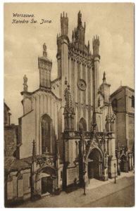 Katedra po XIX-wiecznej przebudowie w stylu neogotyku angielskiego