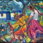 zofia-stryjenska-wiejska-zagroda-1960-kolekcja-miasta-krakowa-2012-04-24
